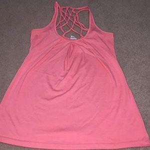 Coral/pink Nollie tank top